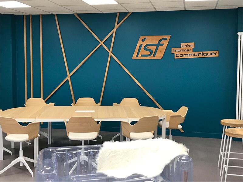 La salle de réunion de ISF BLOIS