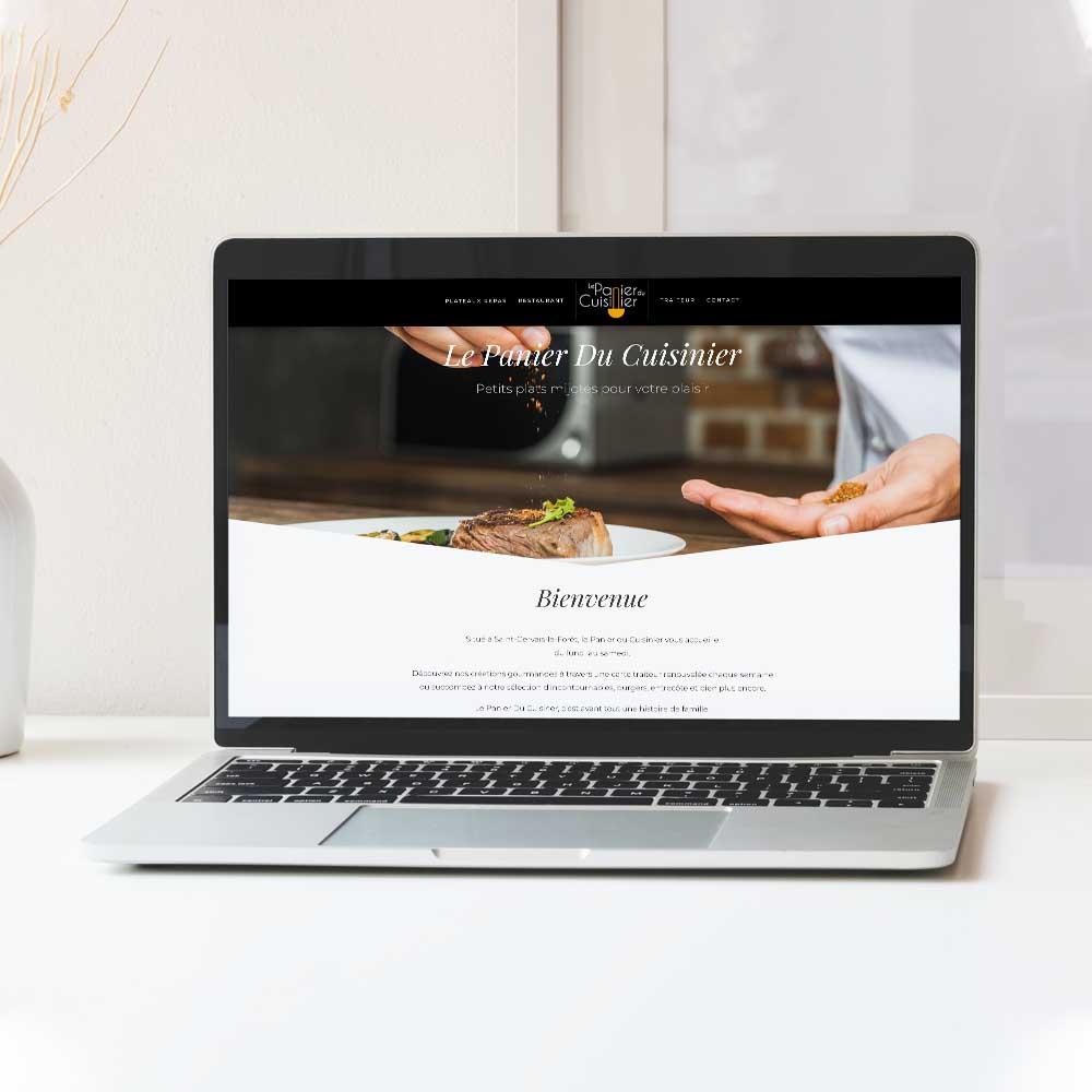 Panier du cuisinier - Site internet