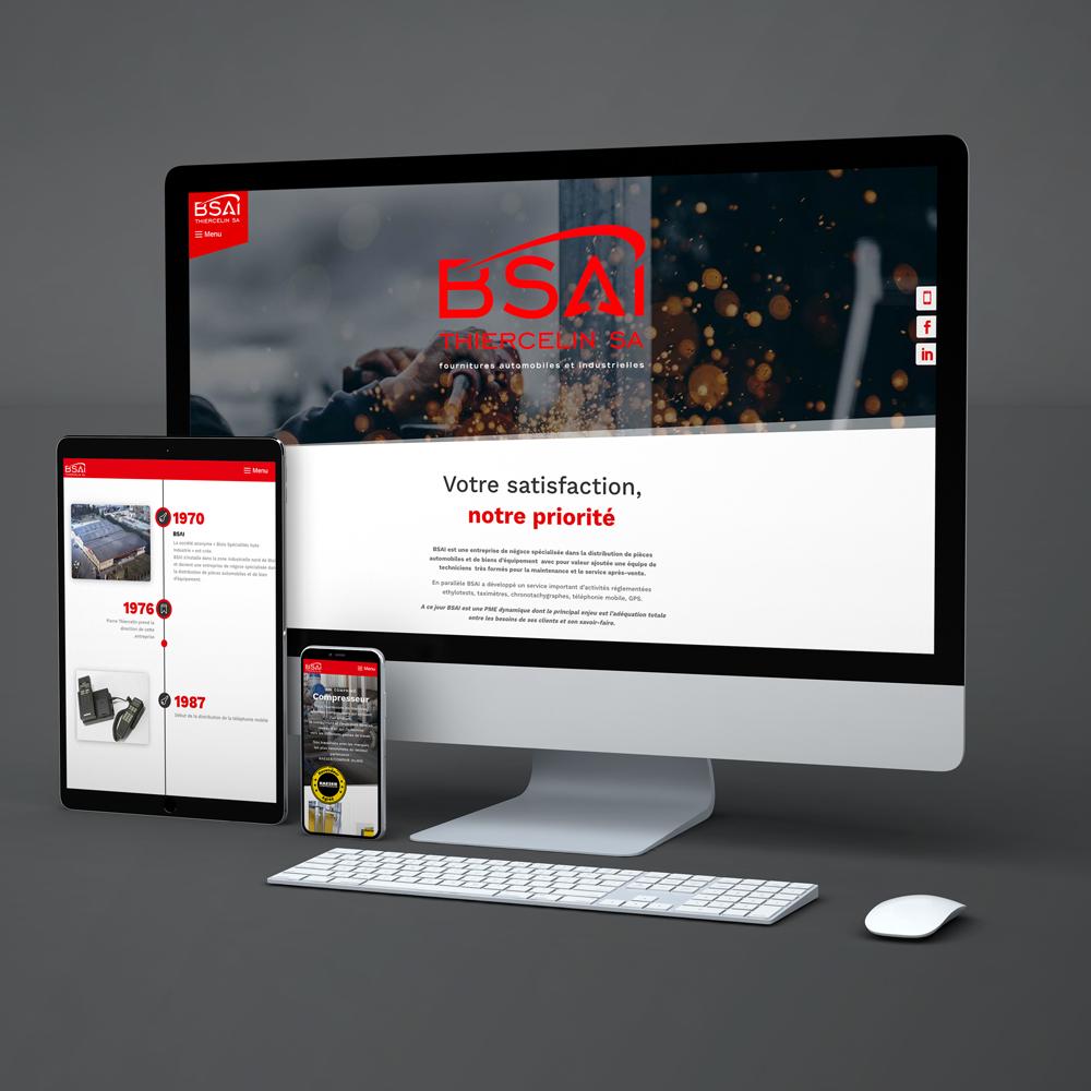 BSAI - Site internet