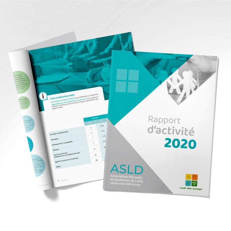 Rapport d'activité - ASLD 41