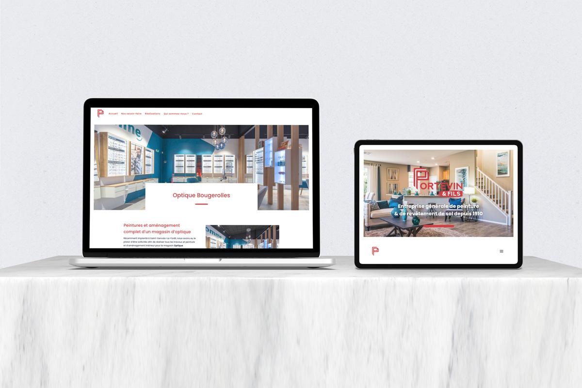 Site internet - Portevin