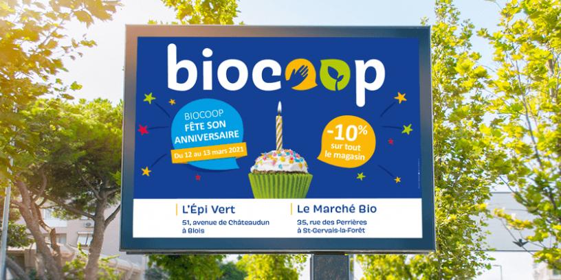 Campagne multi-support - Biocoop